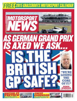 Motorsport News 25th March 2014