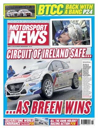 Motorsport News 8th April 2015