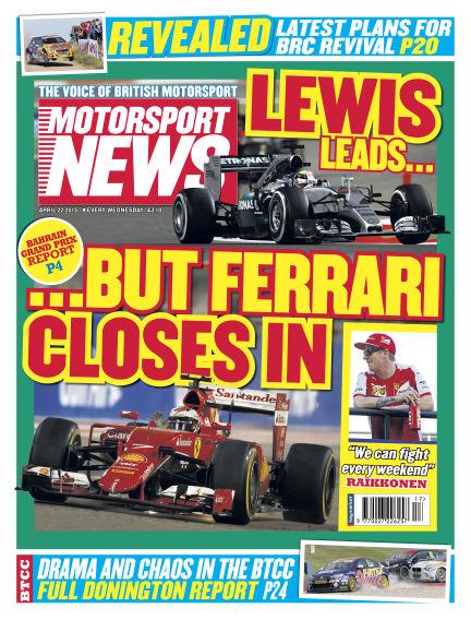 Motorsport News April 22, 2015 00:00