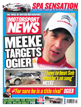Motorsport News 6th May 2015