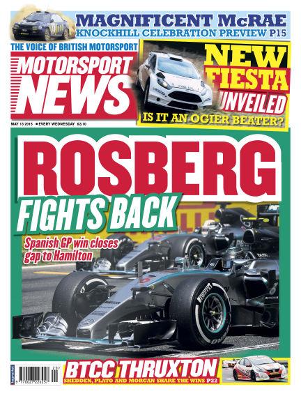 Motorsport News May 13, 2015 00:00