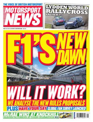 Motorsport News 20th May 2015