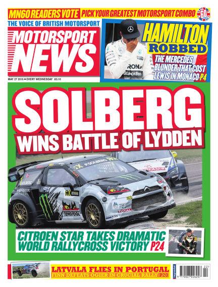 Motorsport News May 27, 2015 00:00