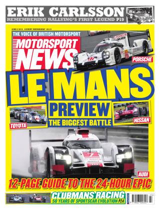 Motorsport News 3rd June 2015