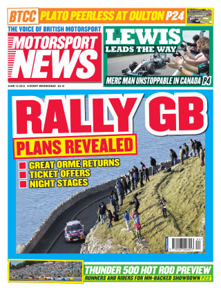 Motorsport News 10th June 2015