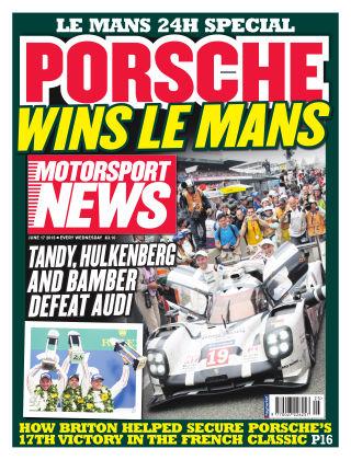 Motorsport News 17th June 2015