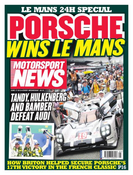 Motorsport News June 17, 2015 00:00