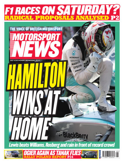 Motorsport News July 08, 2015 00:00