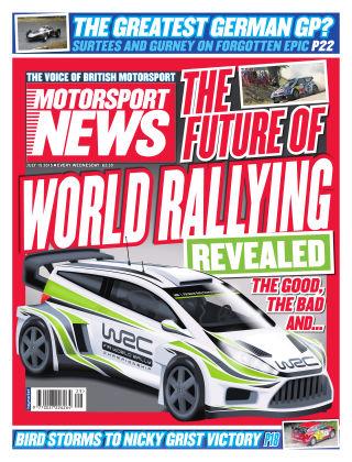 Motorsport News 15th July 2015