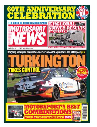 Motorsport News 12th August 2015