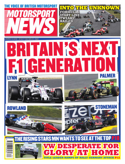 Motorsport News August 19, 2015 00:00