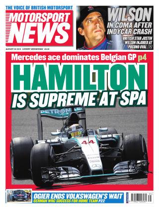 Motorsport News 26th August 2015