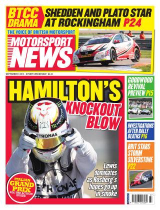 Motorsport News 9th September 2015