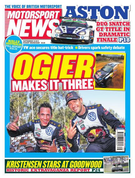 Motorsport News September 16, 2015 00:00