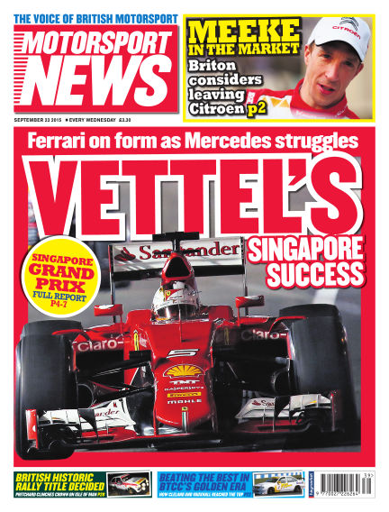 Motorsport News September 23, 2015 00:00