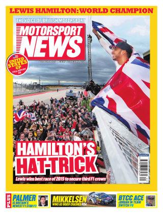 Motorsport News 28th October 2015