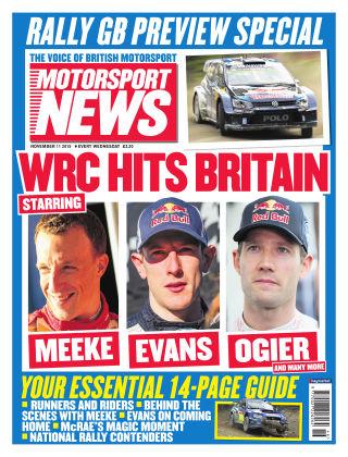 Motorsport News 11th November 2015