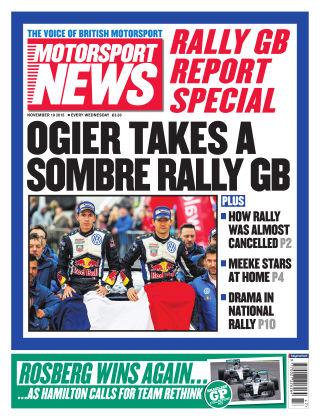 Motorsport News 18th November 2015