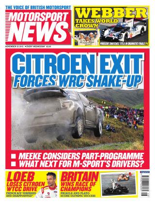 Motorsport News 25th November 2015