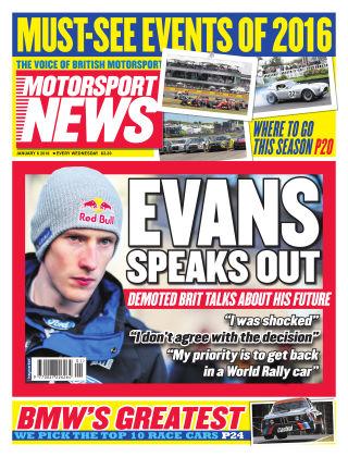 Motorsport News 6th January 2016