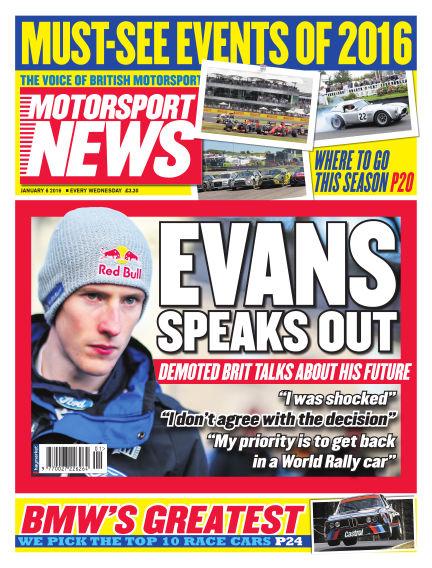 Motorsport News January 06, 2016 00:00