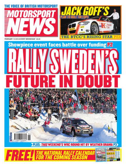 Motorsport News February 10, 2016 00:00