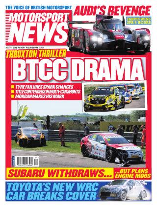 Motorsport News 11th May 2016