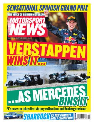 Motorsport News 18th May 2016