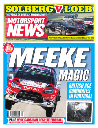 Motorsport News 25th May 2016