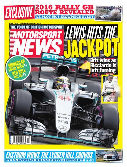 Motorsport News June 01, 2016 00:00