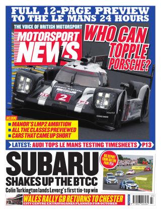 Motorsport News 8th June 2016