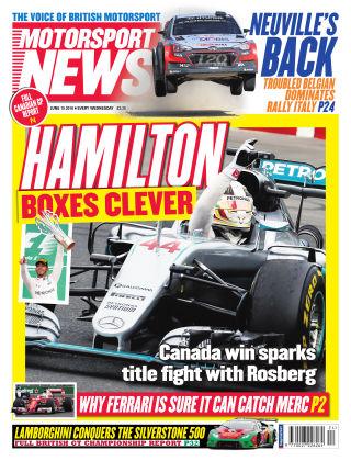 Motorsport News 15th June 2016