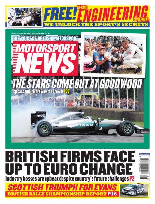 Motorsport News 29th June 2016