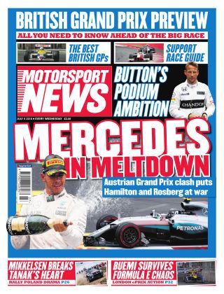 Motorsport News 6th July 2016