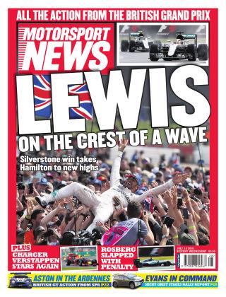 Motorsport News 13th July 2016