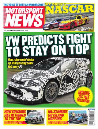 Motorsport News 20th July 2016