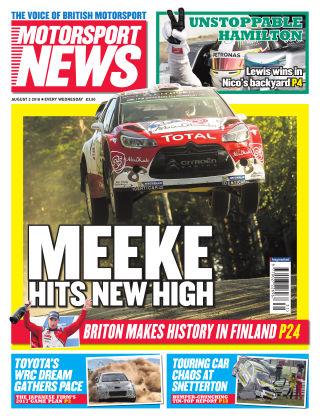 Motorsport News 3rd August 2016