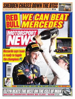 Motorsport News 21st September 2016