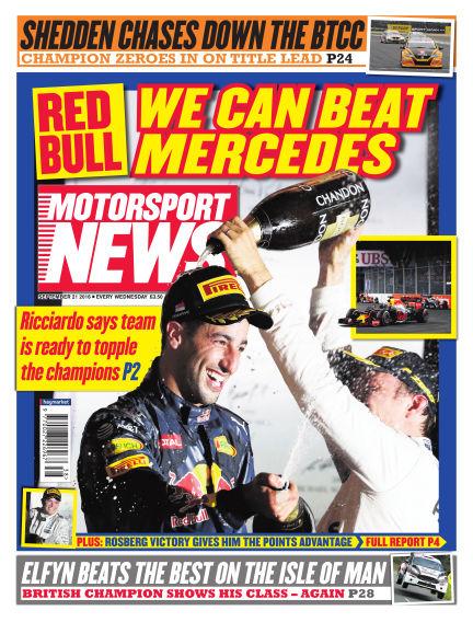 Motorsport News September 21, 2016 00:00