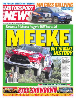 Motorsport News 28th September 2016