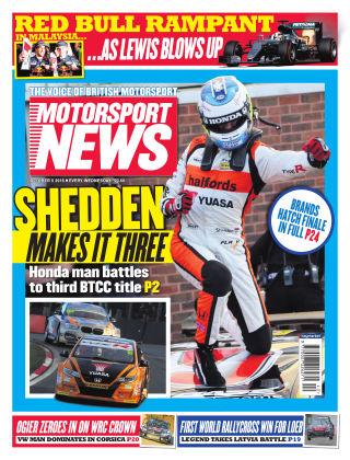 Motorsport News 5th October 2016