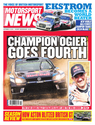 Motorsport News 19th October 2016