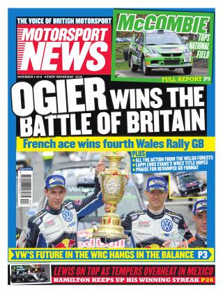 Motorsport News 2nd November 2016