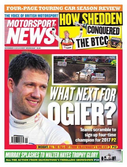 Motorsport News November 09, 2016 00:00