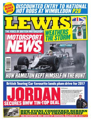 Motorsport News 16th November 2016