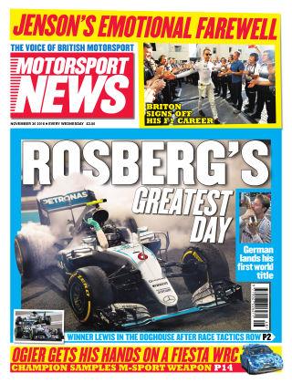 Motorsport News 30th November 2016