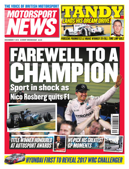 Motorsport News December 07, 2016 00:00