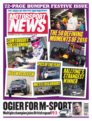 Motorsport News 14th December 2016