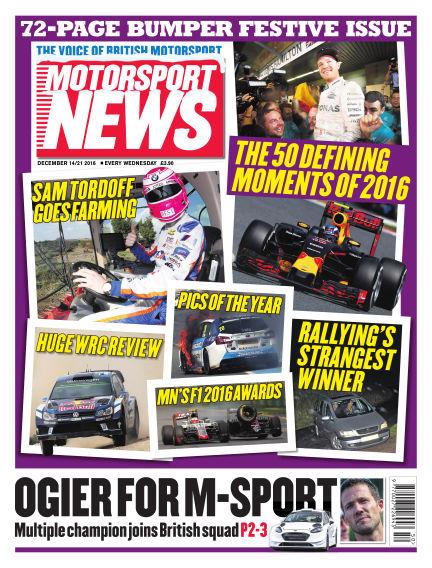 Motorsport News December 14, 2016 00:00
