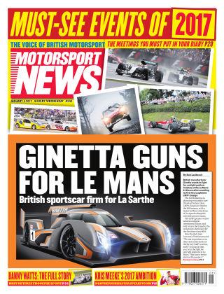 Motorsport News 4th January 2017